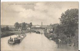 CPA - 59 - Jeumont Nord - Le Port - Péniche - - Jeumont