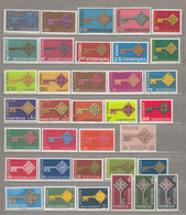 EUROPA 1968 Year Stamps Complete MNH (**) #18939 - Collections (without Album)