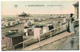CPA - Carte Postale - Belgique - Blankenberghe - La Plage Et Le Pier - 1911 (SVM12104) - Blankenberge