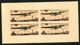 Russia  USSR 1937  Mi BL.3  MLH* Air Mail. PLANE - Neufs