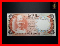 SIERRA LEONE 2 Leones 4.8.1985  P. 6 H  UNC - Sierra Leone
