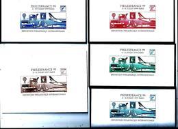 France  -5  Vignettes De L'exposition Philexfrance 99 - Other