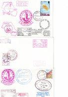 ANTARCTIQUE - ANTARCTICA : AFRIQUE DU SUD - SOUTH AFRICA : Lot De 6 Plis. Beaux Cachets. - Briefmarken