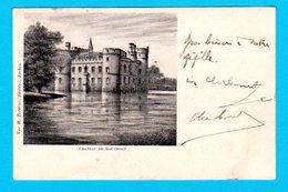 CPA PK Château De BOUCHOUT - Circulée En 1902 - Ed. Vve H. Tordeur, Laeken - 2 Scans - Meise