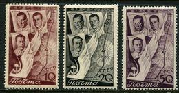 Russia  1938 Mi 599-601   MNH ** - 1923-1991 USSR
