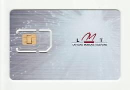 LATVIA LMT GSM SIM MINT - Lettonie