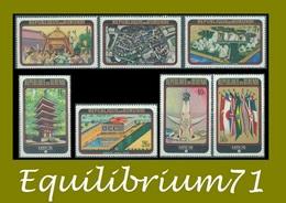 373/379** Exposition D' / Tentoonstelling Van / Ausstellung / Exposure - Osaka - BURUNDI - Burundi