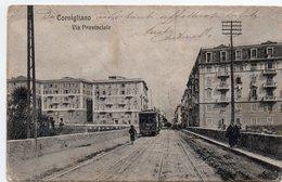 CORNIGLIANO - VIA PROVINCIALE - GENOVA - VIAGGIATA - Genova (Genoa)