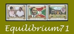 426/428** 4e Anniversaire De La République / 4e Verjaardag Van De Republiek / 4. Jahrestag Der Republik - BURUNDI - Burundi