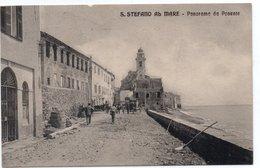 SAN STEFANO AL MARE - PANORAMA DA PONENTE - IMPERIA - VIAGGIATA - Imperia