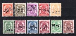 724d/724n MNH** 1946 - Klein Staatswapen - 1946 -10%