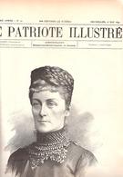 Paris-Incendie Du Bazar De La Charité-D.d'Alençon-Exposition De Bruxelles-Guerre-Greco-Turque-Le Patriote Illustré 1897 - 1850 - 1899