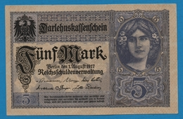 DEUTSCHES REICH 5 Mark  01.08.1917# T.15567161 P# 56b - [ 2] 1871-1918 : Impero Tedesco