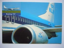 Avion / Airplane / KLM / Boeing B 737 / Airline Isue - 1946-....: Ere Moderne