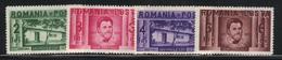 Roumanie 1937 Yvert 511/14 Neufs** MNH (AB95) - Nuovi