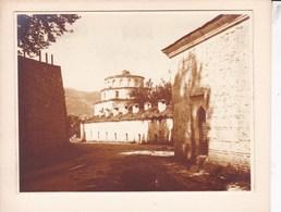 BURSA BROUSSE Près De La Mosquée Bajazid 1925 Photo Amateur Format Environ 7,5 Cm X 5 Cm Sur Support TURQUIE - Lieux