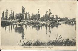 ANGOULEME , La Charente Et L' Ile Marquet , 1904 - Angouleme