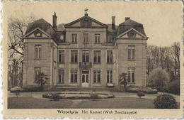 Wippelgem.   -   Het Kasteel  -   1933   Naar   Ichtegem - Evergem