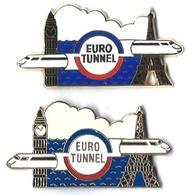 AB -  E14 - EUROTUNNEL - EUROSTAR Entre BIG BEN Et TOUR EIFFEL - Verso : ARTHUS BERTRAND PARIS / AB - Arthus Bertrand