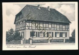 Oberlistingen - Bez. Kassel - Gasthaus Zum Rathaus [Z02-0.709 - Allemagne