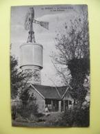 Cpa 1921 POTIGNY Le Château D'eau Et Son éolienne Calvados 14 - Autres Communes