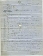 Fouque Cadet & Cie. Graines Et Vers à Soie Du Levant Et D'Italie. Avignon (Vaucluse). 1856. Sériciculture. Curé Tresques - 1800 – 1899