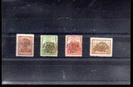 LITUANIE 259/262** AU PROFIT DES ORPHELINS DE GUERRE - Litauen