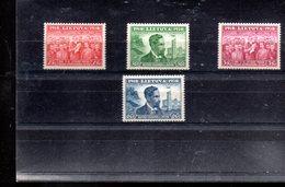 LITUANIE 366/369** SUR LE 20E ANNIVERSAIRE DE L INDEPENDANCE - Litauen