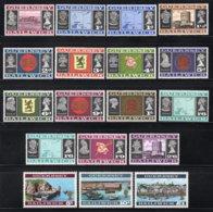 GUERNSEY Yt. 1/18 MNH** 1969-1970 - Guernsey