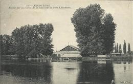 ANGOULEME , Lavoir Sur Les Bords De La Charente Au Port Lhoumeau - Angouleme