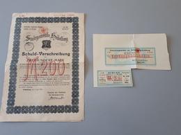 Prescription De Dette Du Canton De Heidelberg Allemagne 1903  & - Bergbau