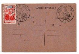 ALGERIE 1946 JOURNEE DU TIMBRE ORAN - Covers & Documents