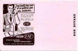 BUVARD BLOTTING PAPER PAPETERIE LE BLOC FAF CHEZ VOTRE PAPETIER - Stationeries (flat Articles)