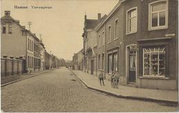 Hamme.   -    Yzerwegstraat.   -   Tabak Van Verellen    -   1931   Naar   Oude God - Hamme