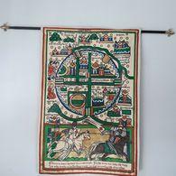 Carte Des Croisés De Jérusalem,entièrement Doublé Medievale - Tapis & Tapisserie