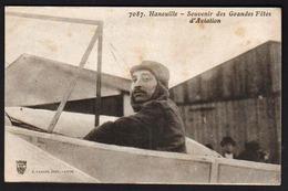 BEZIERS/ CAZILHAC: Plan TOP Sur L'aviateur Elie Hanoville En Souvenir De Ses Vols Des Vols............ - Beziers