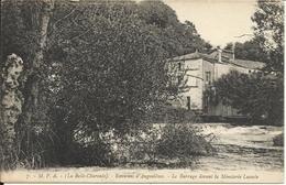 ( La Belle Charente ) , Environs D' ANGOULEME , Le Barrage Devant La Minoterie Lacoste - Angouleme