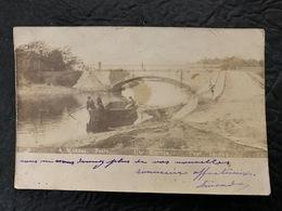 40 CAPBRETON / CAP BRETON - Pont Lajus (carte Photo A MOREAU) - Capbreton