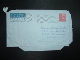 AEROGRAMME 50c OBL.MEC.3 DEC 1975 HONG KONG A - Postal Stationery