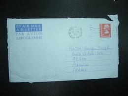 AEROGRAMME 50c OBL.MEC.21 JUN 1975 KOWLOON B HONG KONG - Postal Stationery