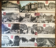 114 X PARIS - Parijs - 1906 - A RENAIX - NAAR RONSE - Rue - Eglise - Animée - Timbre - Postzegel - Geanimeerd - Straat - Frankrijk