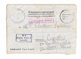 STALAG XXI C/Z GRAETZ POLOGNE Pour CASTRES 29 1 1941 - Wars