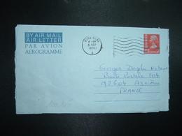 AEROGRAMME 50c OBL.MEC.5 SEP 1975 HONG KONG A - Postal Stationery