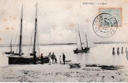 PORT-BAIL LES QUAIS ,BATEAUX,PERSONNAGES  REF 65229 - Sonstige Gemeinden