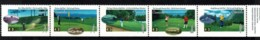 Canada 1995 Golf Courses Strip Of 5 MNH - 1952-.... Reign Of Elizabeth II