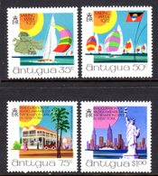 ANTIGUA - 1972 NEW YORK TOURIST OFFICE TOURISM SET (4V) FINE MNH ** SG 345-348 - Antigua & Barbuda (...-1981)