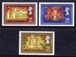 ANTIGUA - 1972 CHRISTMAS SET (3V) FINE MNH ** SG 335-337 - Antigua & Barbuda (...-1981)