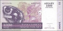 TWN - MADAGASCAR 89b - 1000 1.000 Ariary 2004 A XXXXXXX L UNC - Madagascar
