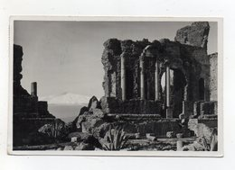 Taormina (Messina) - Teatro Greco - Viaggiata Nel 1938 - (FDC21259) - Messina