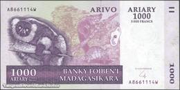 TWN - MADAGASCAR 89b - 1000 1.000 Ariary 2004 A XXXXXXX W UNC - Madagascar